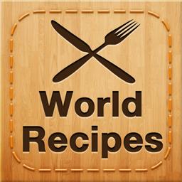 Ícone do app Receitas do Mundo - Cozinhe Mundo Gourmet
