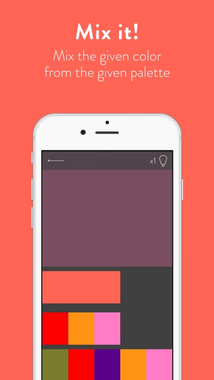 colorwiz - the color mixing game