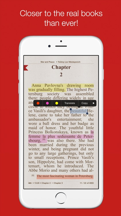 i2Reader Cloud - cloud-sync fb2, epub ebook reader screenshot-0