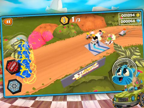 Formula Cartoon All-Stars tablet App screenshot 1