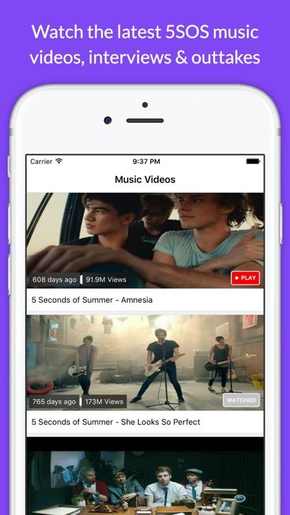 Fan Club - 5SOS Live Chat, Music, Videos App