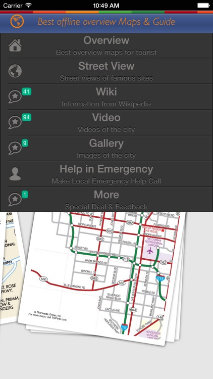 360 Tour Las Vegas: Best Offline Maps with StreetView and Emergency Help Info screenshot-3