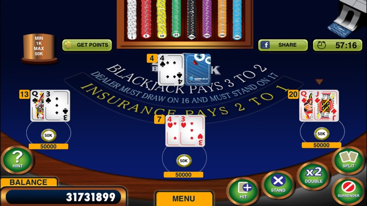 Blackjack 21 + Free Casino-style Blackjack game