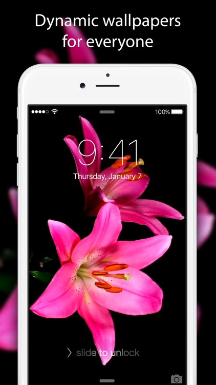 Live Wallpapers & Themes - Dynamic Backgrounds and Moving Images for iPhone 6s and 6s Plus screenshot-3