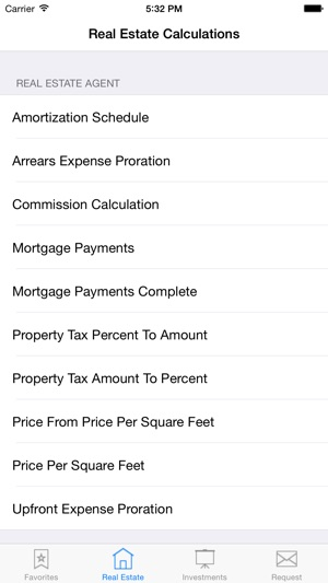 real estate agent and investor calculator on the app store