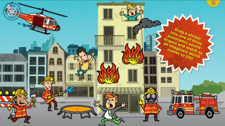 Buildo Rescue Sticker Book screenshot-3