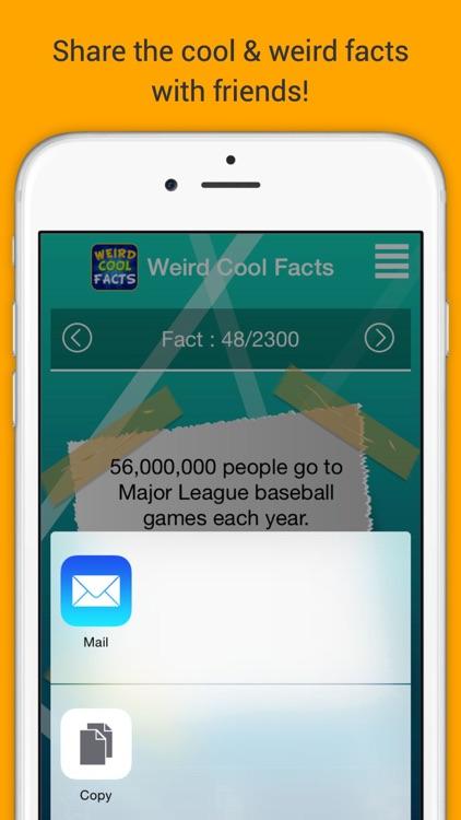 Weird Cool Facts screenshot-3