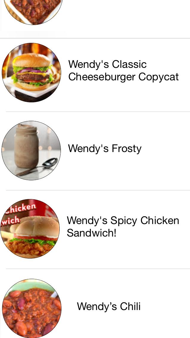 Restaurant Recipes screenshot three