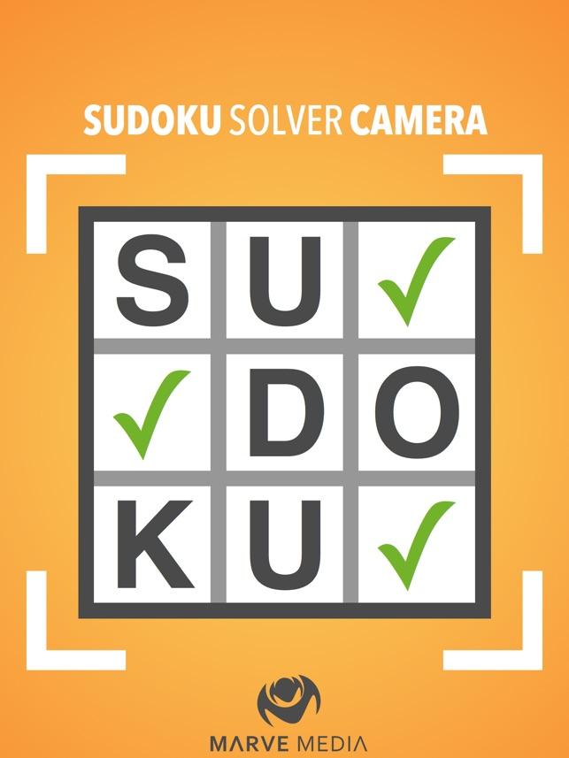 sudoku solver camera をapp storeで