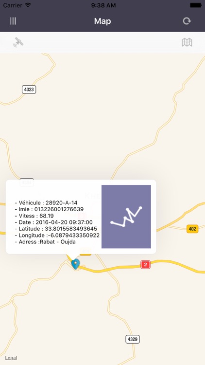 Dakitrack GPS Tracker gps