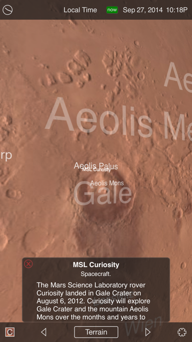 Mars Globe-1