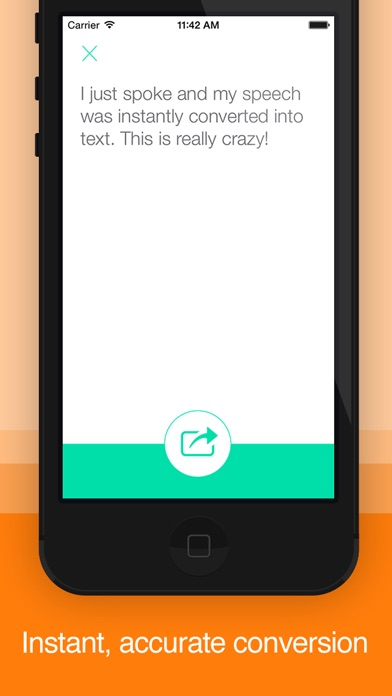 Screenshot #2 for Active Voice : Speech-To-Text