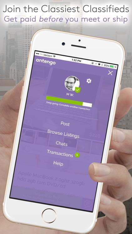 antengo classifieds marketplace: buy & sell w/ trust screenshot-4
