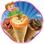 Cone Pizza Maker - Permet de cuisiner de délicieux plats italiens dans cette cuisine folle de cuisson et de jeu de cuisson