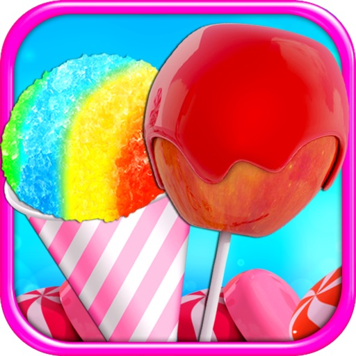 Candy Apples & Snow Cones - Kids Carnival & Fair Food FREE