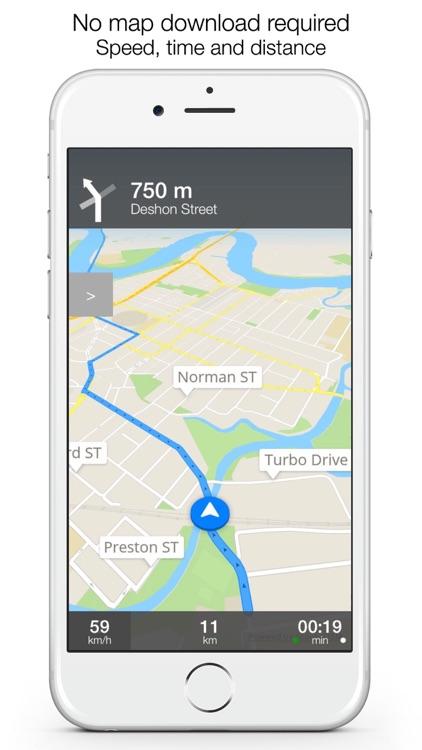 Sweden Offline Maps & Offline Navigation screenshot-3
