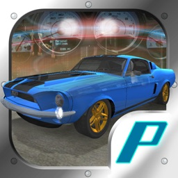 3D Muscle Car V8 Parking: Classic Car City Racing Free Game