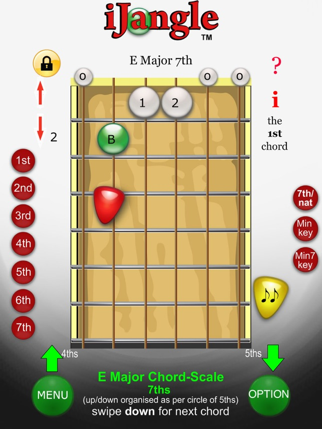 Ijangle Guitar Chords Plus Chord Tools With Fretboard Scales