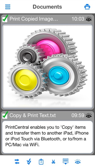 Screenshot #2 pour PrintCentral for iPhone