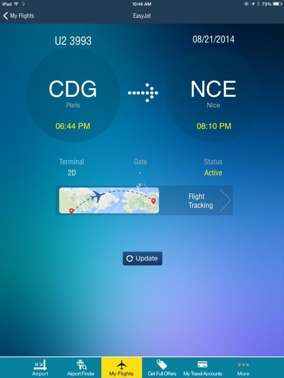 Nice Côte d'Azur Airport + Flight Tracker HD air NCE France