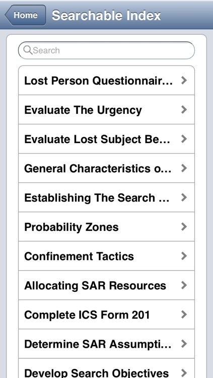 Search & Rescue Operations Field Guide screenshot-4