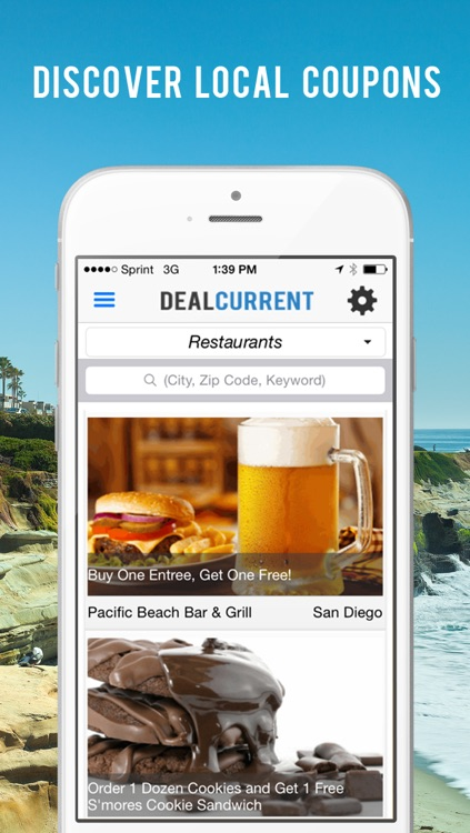 Deal Current - San Diego's Best Local Deals & Coupons