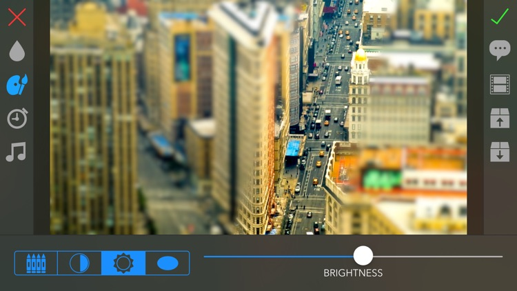 TiltShift Video - Miniature effect for movies and photos screenshot-0