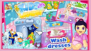 Baby Clothes Kids Laundry Time - Washing & Dry Cleaning Mommy's Little Helper-2