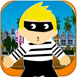 Evil Robber Dash FREE - Cop Catch Speed Chase