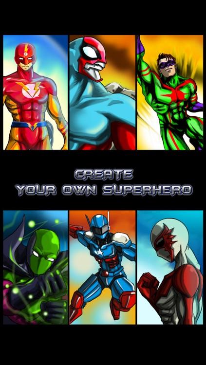 Create Your Own Superhero - Free Hero Character Costume Maker Dress Up Game screenshot-4