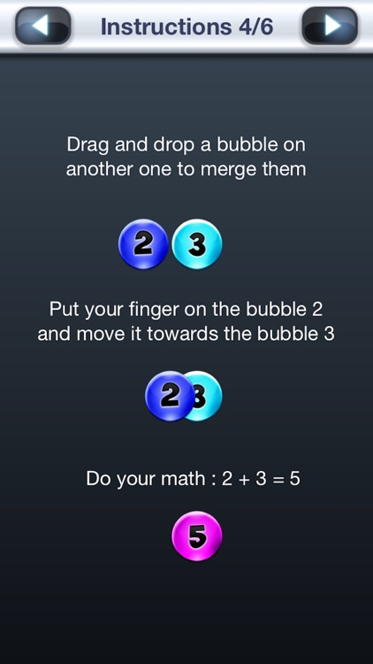 Numbers Addict 2 Candy Splash HD for iPhone, iPad & iPod Touch - Bubble Puzzle Brain & Mind IQ Challenge screenshot-3