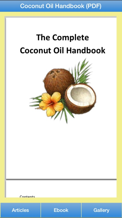 Coconut Oil Guide - All About Coconut Oil For Your Hair and Healthy! screenshot-2