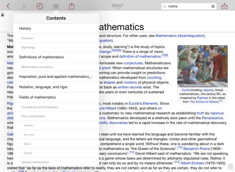 Wiki² - Wikipedia for iPad   App Price Drops