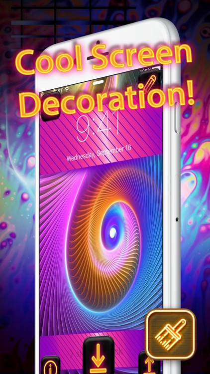 Cool Neon Wallpapers Glowing And Sparkling Backgrounds For Retina Home Screen Free