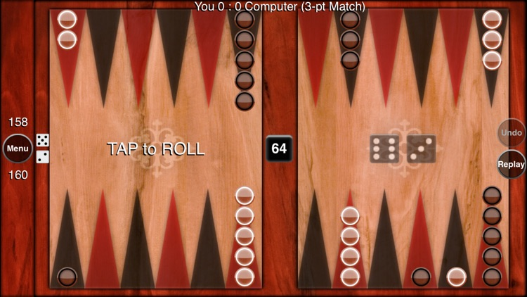 FaceMe Backgammon