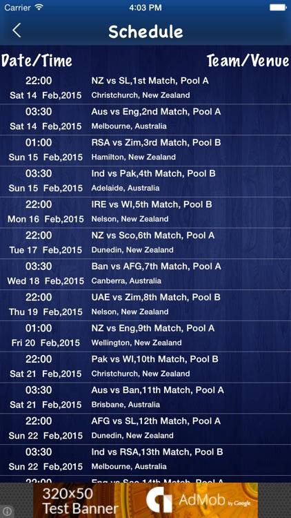 IPL 2017 - Live score and Schedule