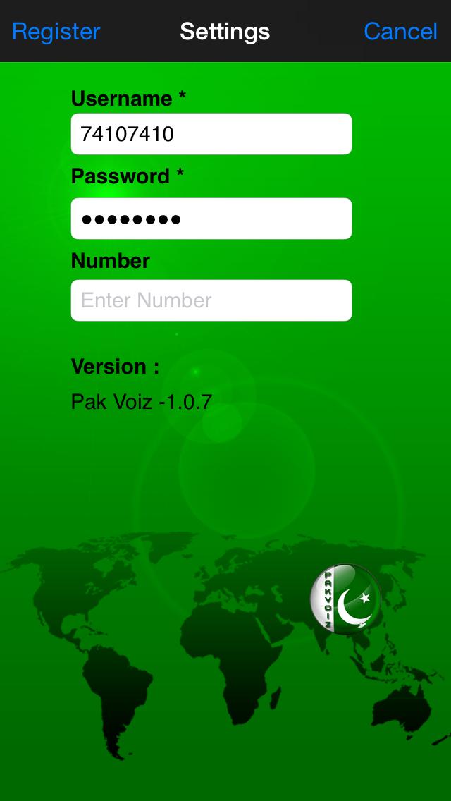 Pak Voiz screenshot two