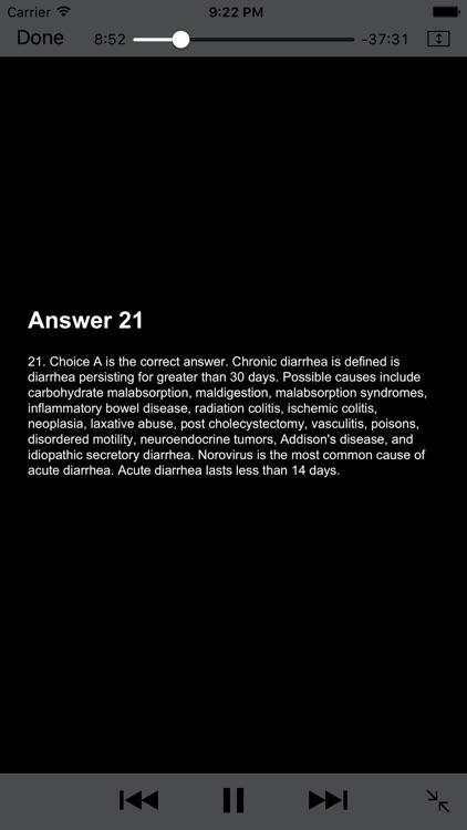 Gastrointestinal Blueprint PANCE PANRE Review Course screenshot-3