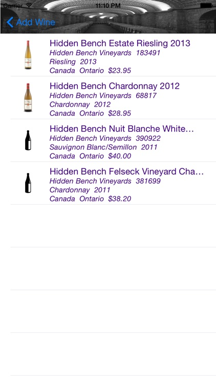 Wine Cellar screenshot-3