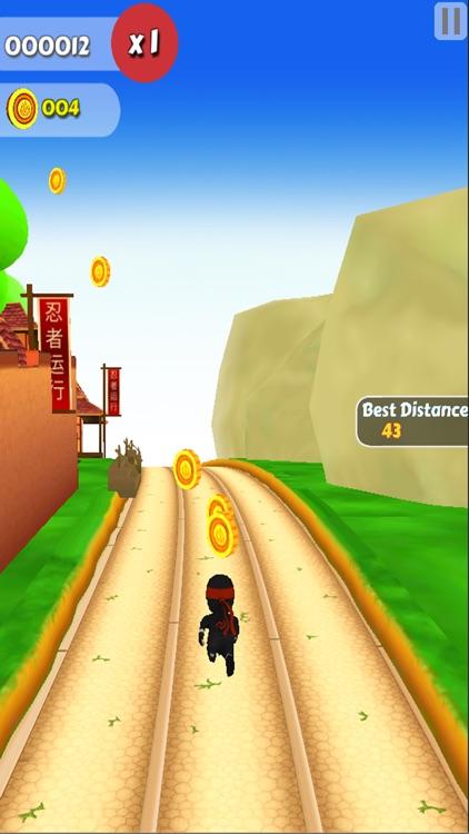 Japan Ninja Kid Run : Runner And Jumper And Shoot Obstacles 3d Game