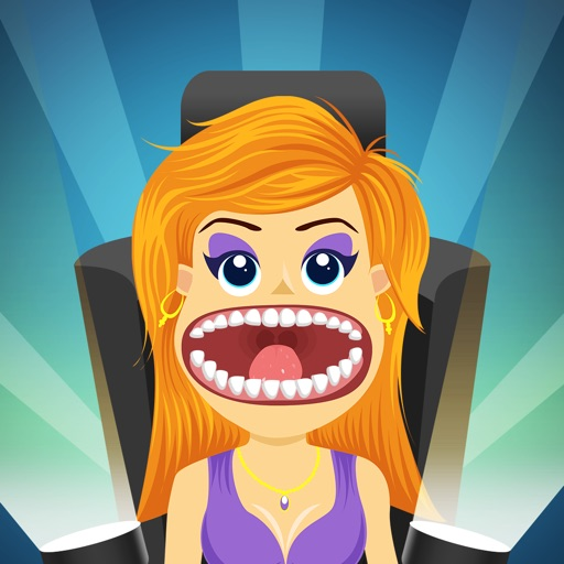 Crazy Virtual Celebrity Dentist - new teeth doctor game