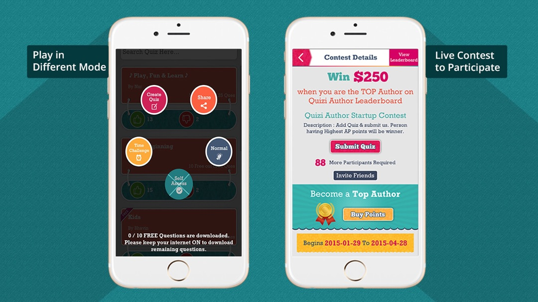 Quizi-Play Quiz,Make Quiz & Earn Money - Online Game Hack and Cheat