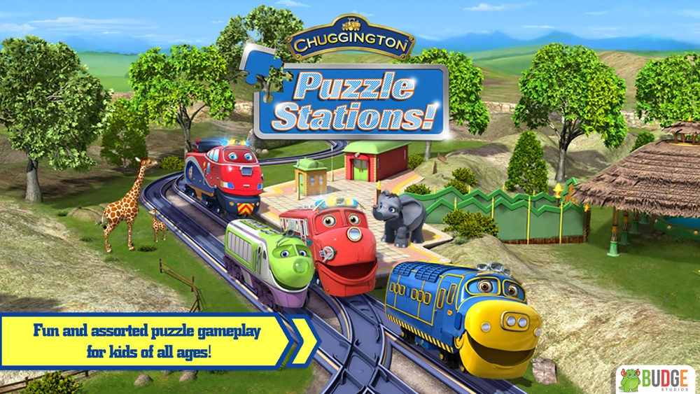 Chuggington Puzzle Stations! – Educational Jigsaw Puzzle Game for Kids
