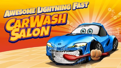 Awesome Lightning Fast Car Wash Salon and Auto Repair Game For Kids screenshot one