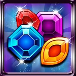 Star Zombie: Crazy Jewels Match