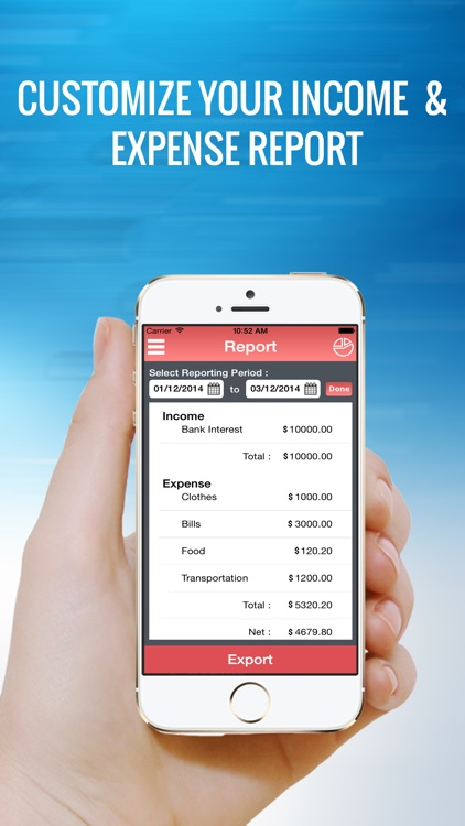 My Budget - Income Expense Manager screenshot-3