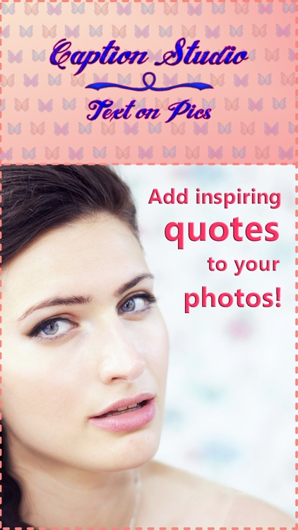 Caption Studio Text on Pics Cute Photo Writer
