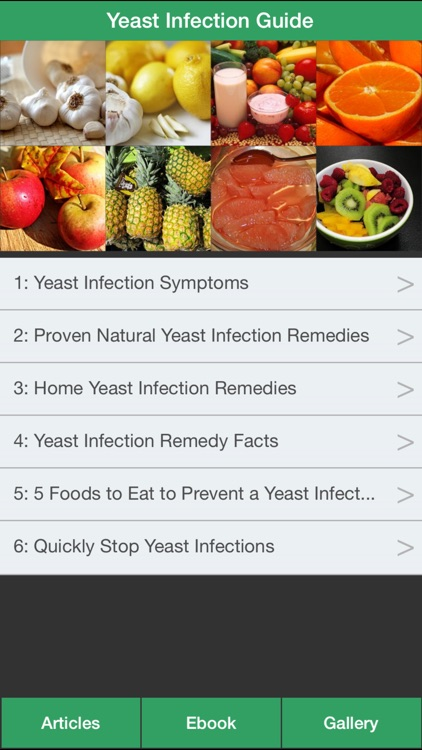 Yeast Infection Guide - The Guide To Cure Yeast Infection Symptoms At Home!