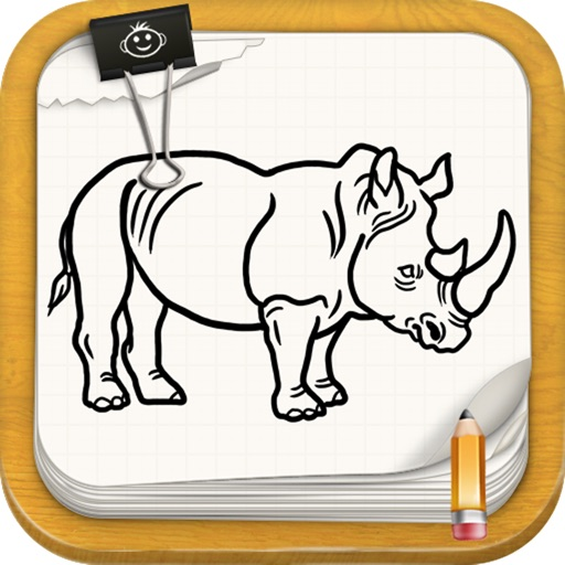 Learn To Draw : Wild Nature Animals