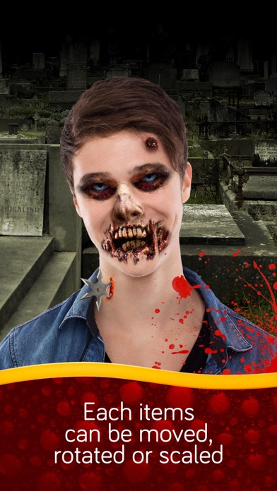 Zombie photo booth screenshot four